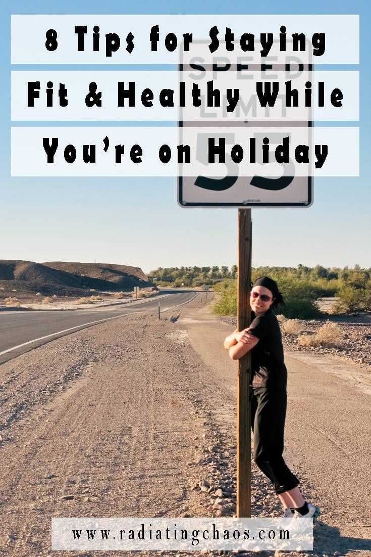 With some careful planning, you can still manage to stay fit and healthy while you're on holiday. Just remember, it's not all about how active you are, what you eat is also a factor.
