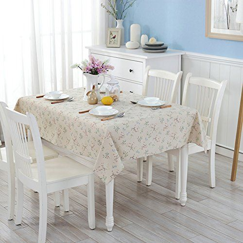 Tablecloth Cotton And Linen Fabrics Pastoral Coffee Table Round Table Tablecloth Color Table Cloth Desk Covering