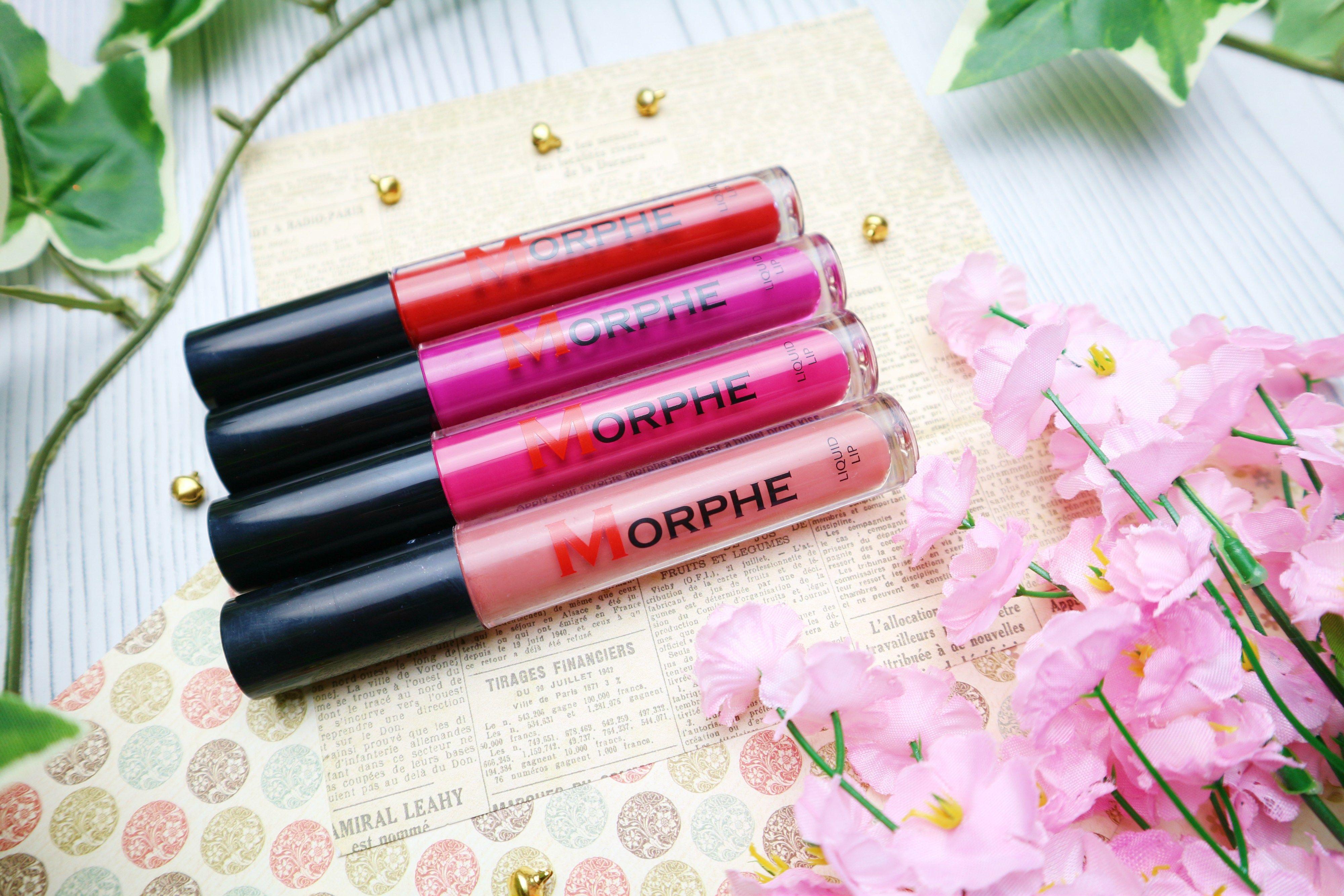 Morphe Liquid Lipsticks Swatches and Review Liquid