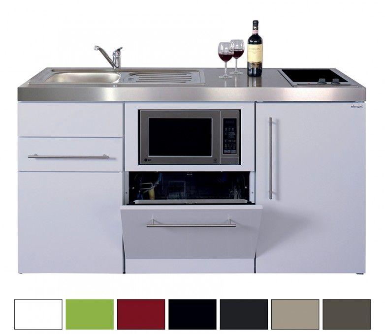 Miniküche Stengel Premiumline MPGSM 150, Metall, 150 cm