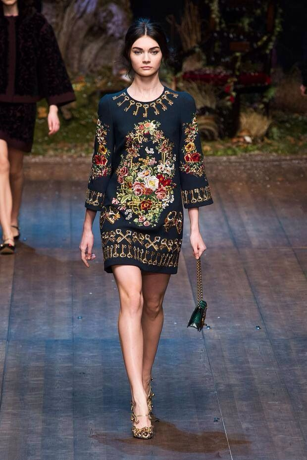 Beautiful flowery creation from D&G