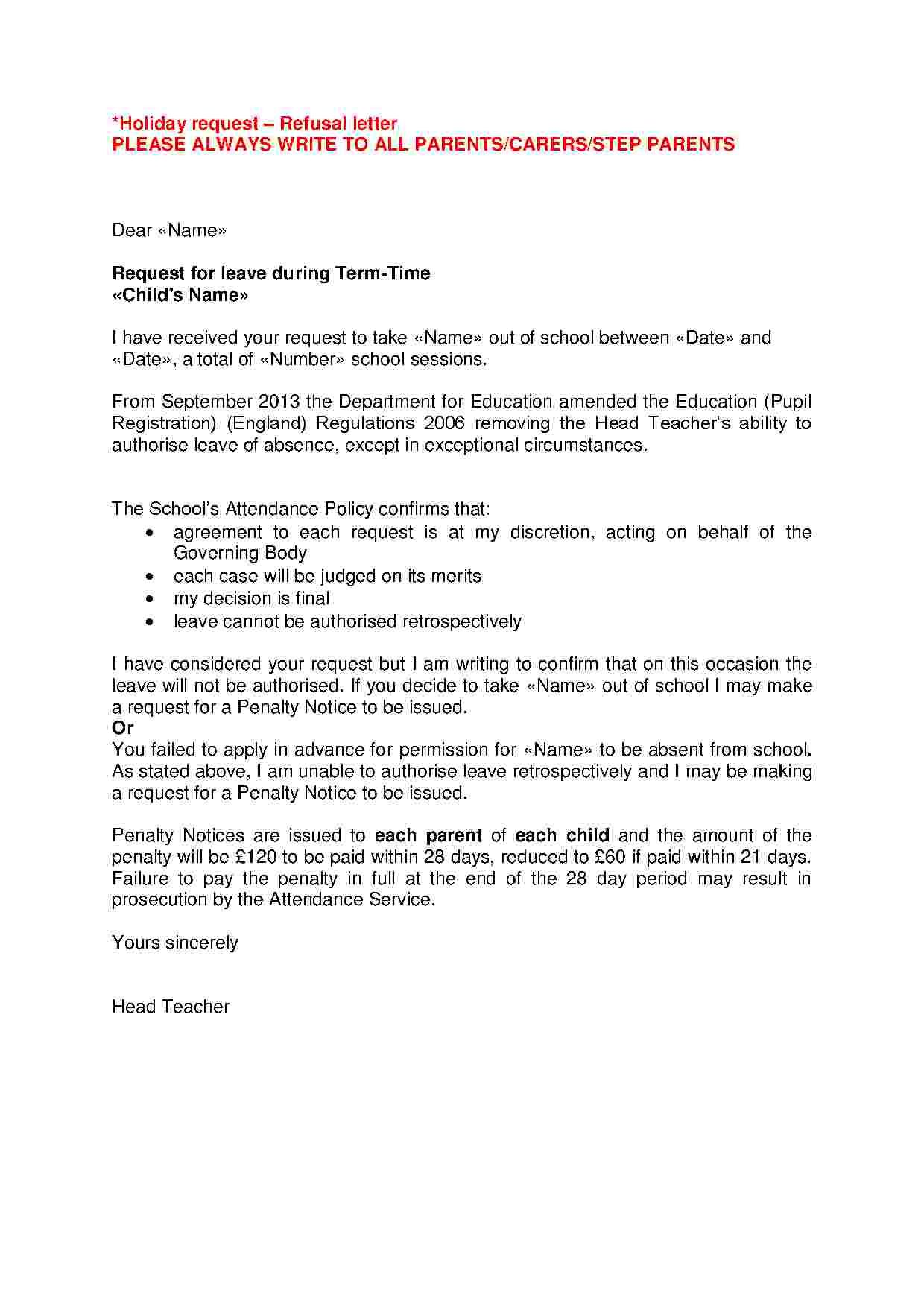 12++ Leave of absence letter sample doc ideas in 2021