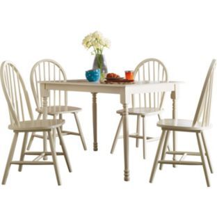 Loire Dining Table and 4 Cream Chairs at Argos.co.uk