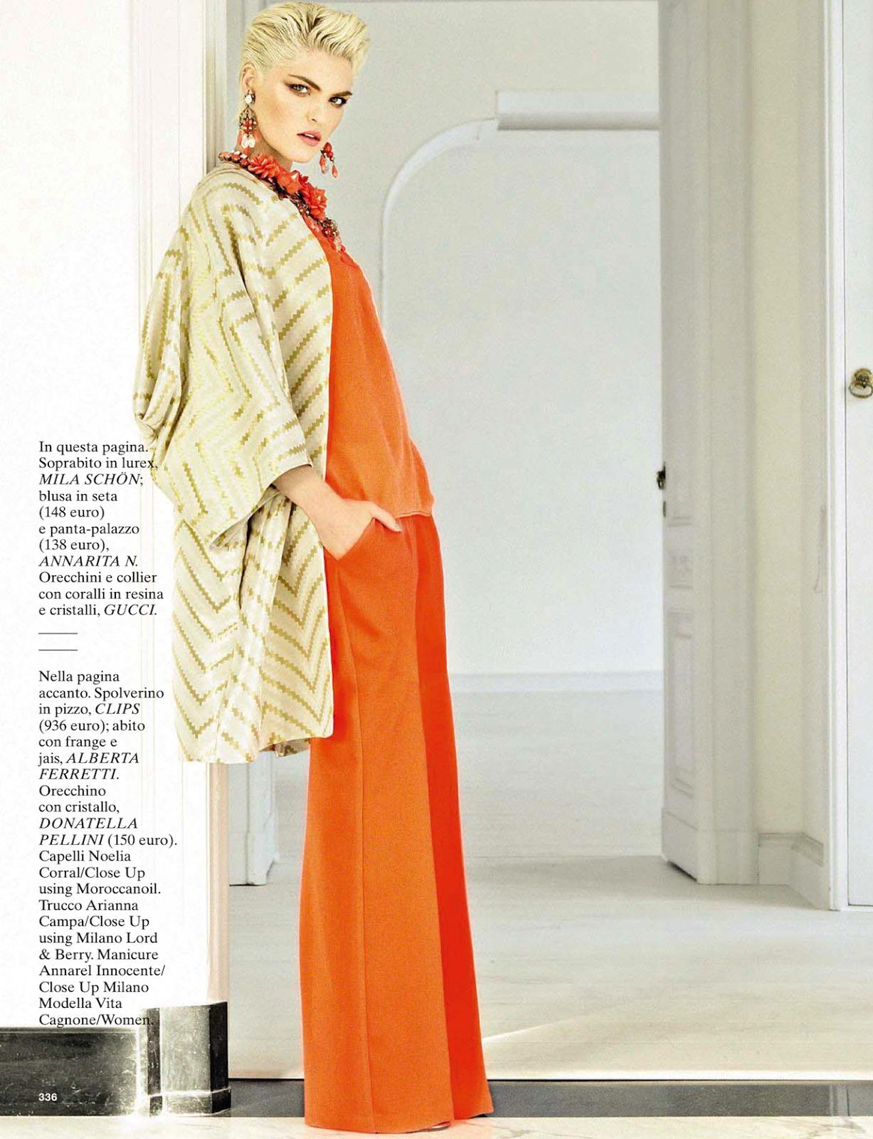 riviera: vita cagnone by lorenzo bringheli for glamour italia april 2013 | visual optimism; fashion editorials, shows, campaigns & more!