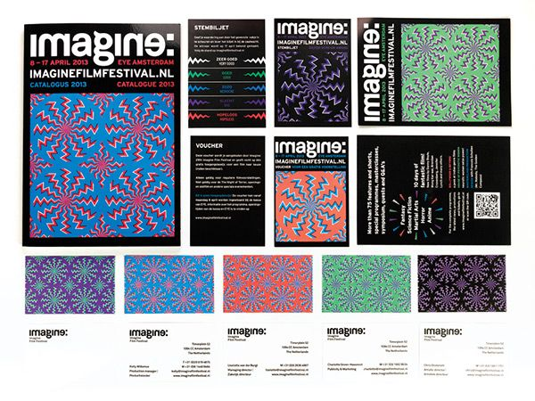 Imagine Film Festival Amsterdam on Behance