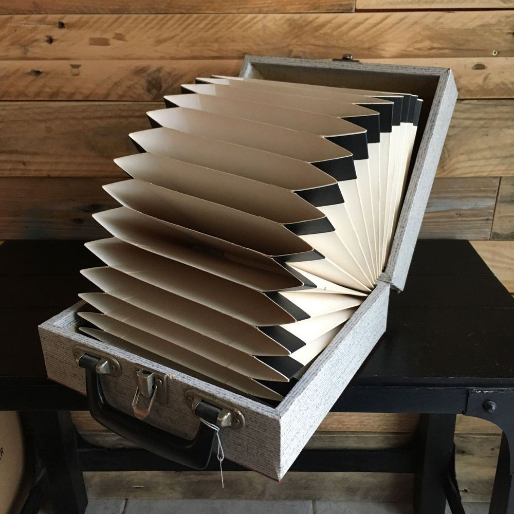 Rangement Vinyl 45 Tours vintage, 1 valise range vinyles disques 45tours, boutique