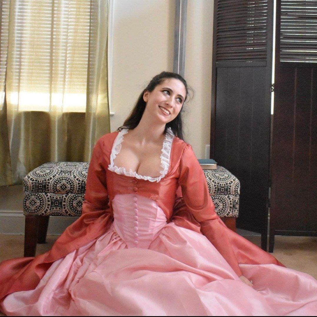 Angelica Schuyler Dress; Hamilton Costume; 18th century Costume ...