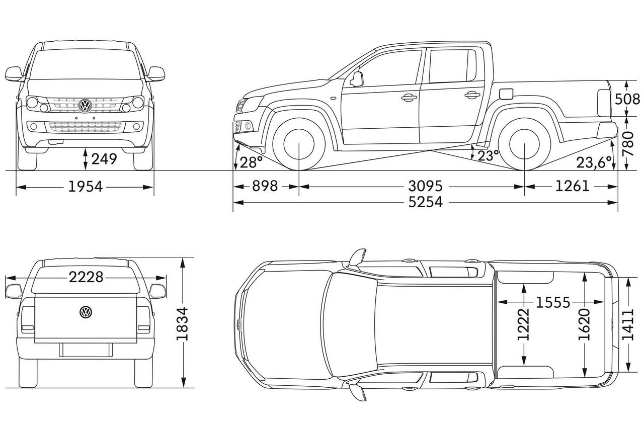 Resultado De Imagen Para Medidas De Camionetas