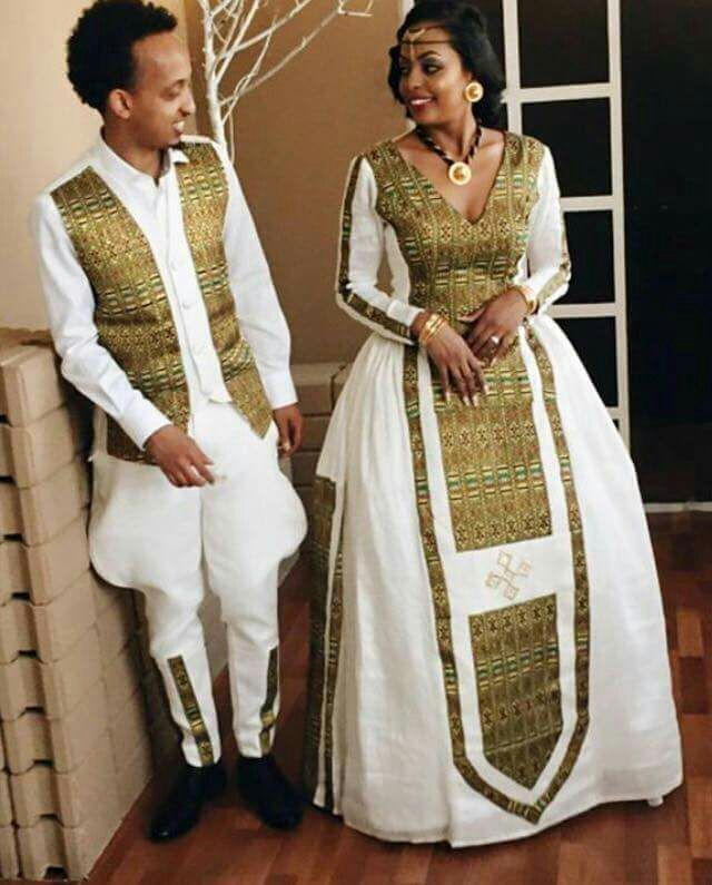Image Result For Habesha Dress Ethiopian Traditional