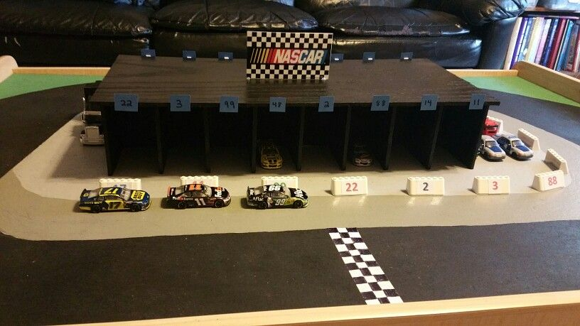 Train Table Remake To A Race Track Nascar Racing Nascar Race Tracks Race Track
