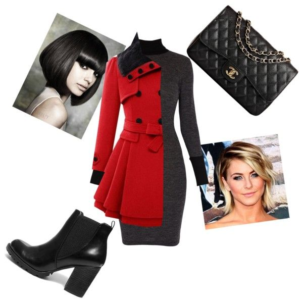 A fashion look from March 2015 featuring Morgan dresses, Steve Madden ankle booties and Chanel handbags. Browse and shop related looks.