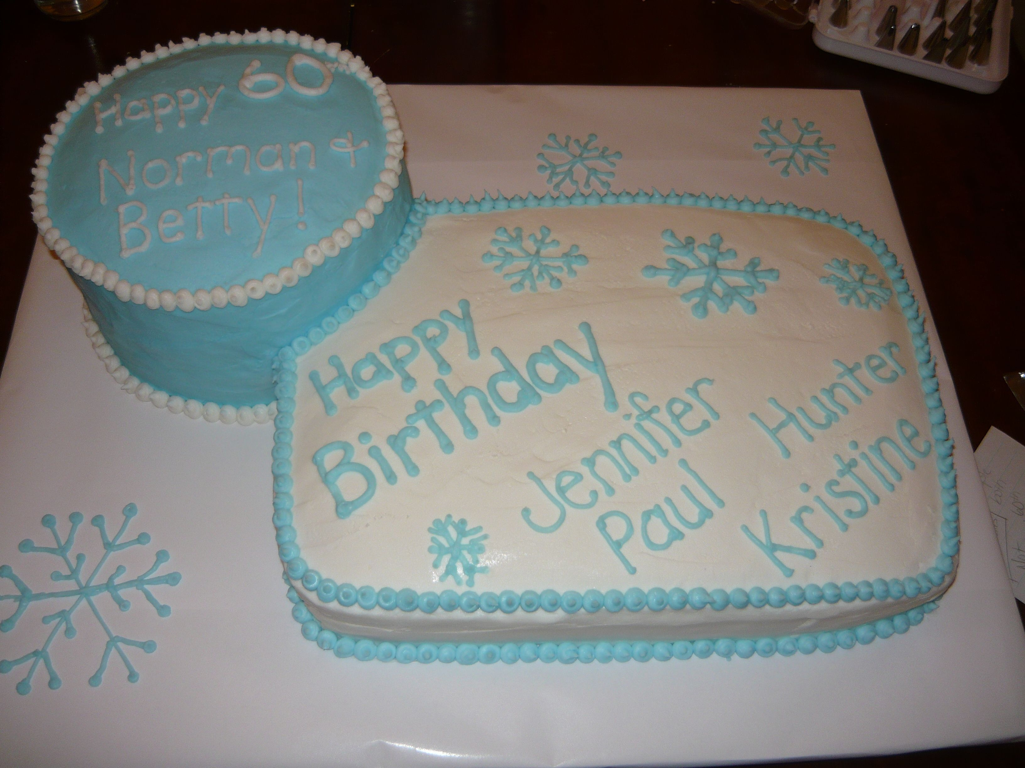 A Birthday And Anniversary Cake Combined My Cakes