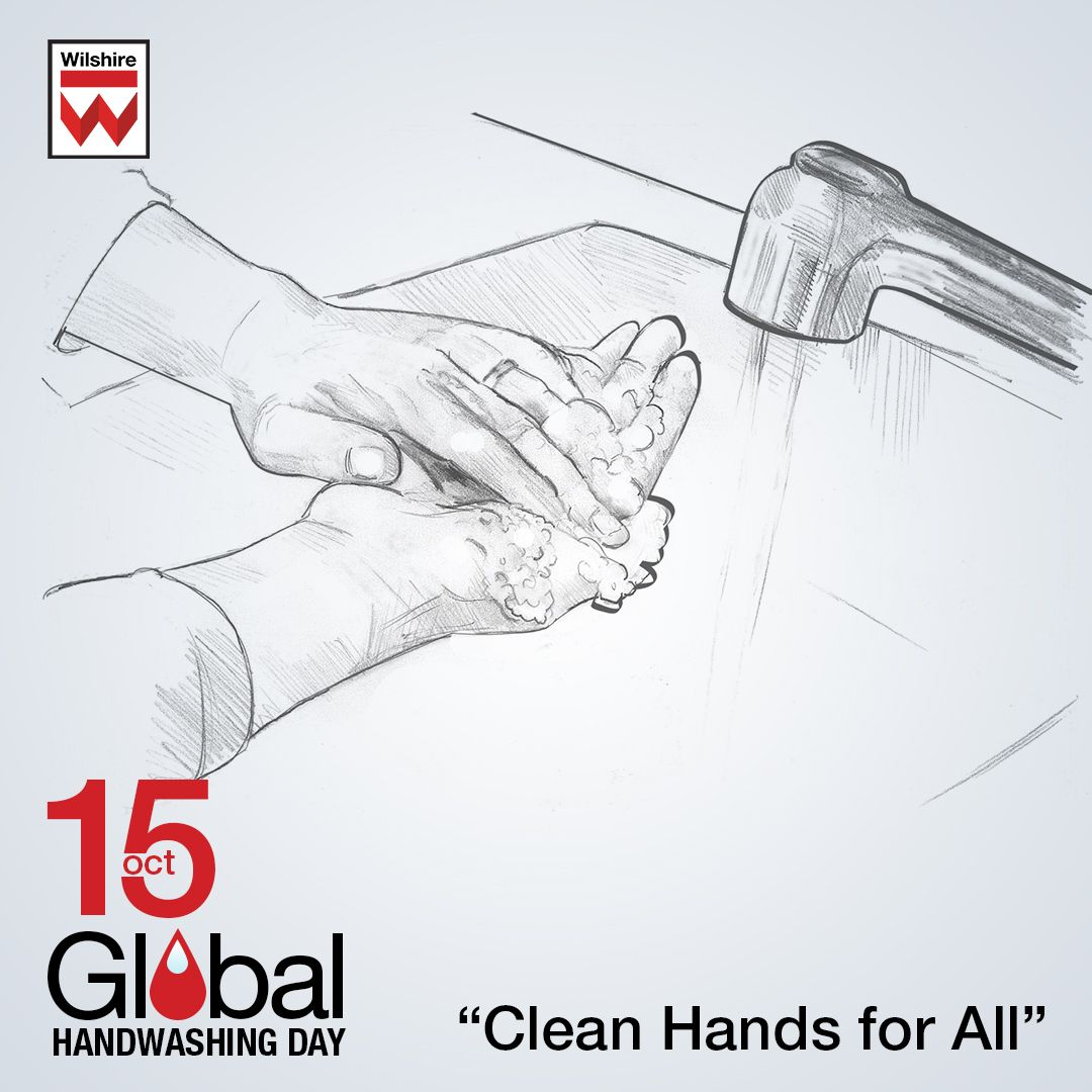 Global Handwashing Day is observed on the 15th of October