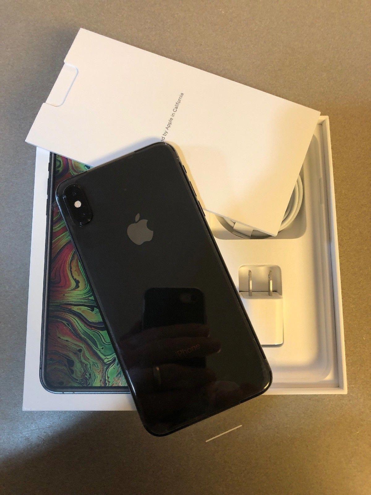 0ed4fa40a5d Apple iPhone XS Max 64GB Space Gray Sprint - Financed Please READ - Bad ESN  READ