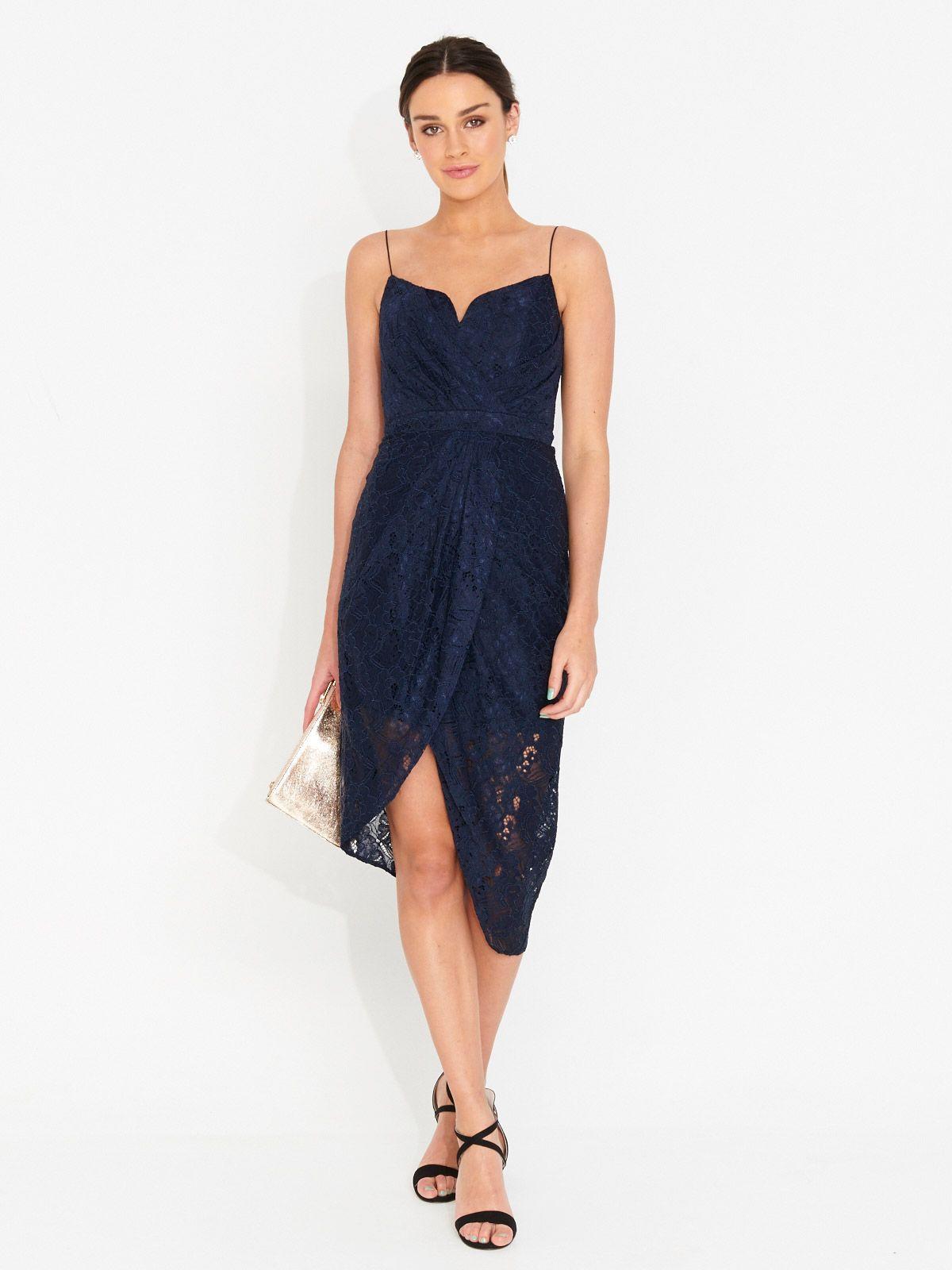 Image for Lace Romantic Drape Dress from Portmans | dresses ...