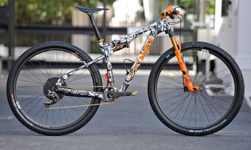 Xc World Cup Tech Another Prototype Wiawis Full Suspension Bike