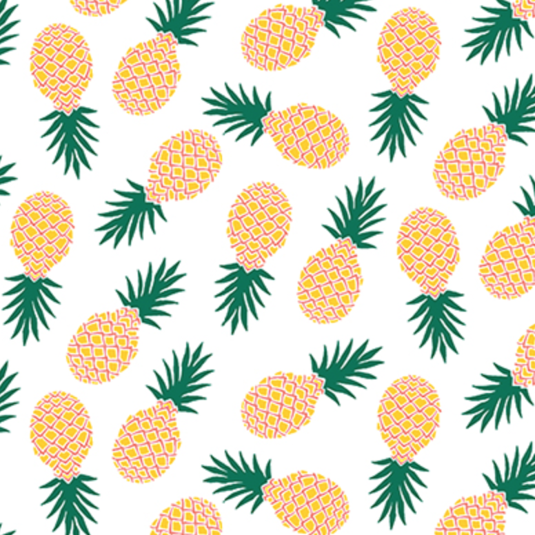 Парню, картинки для бейджика с ананасами