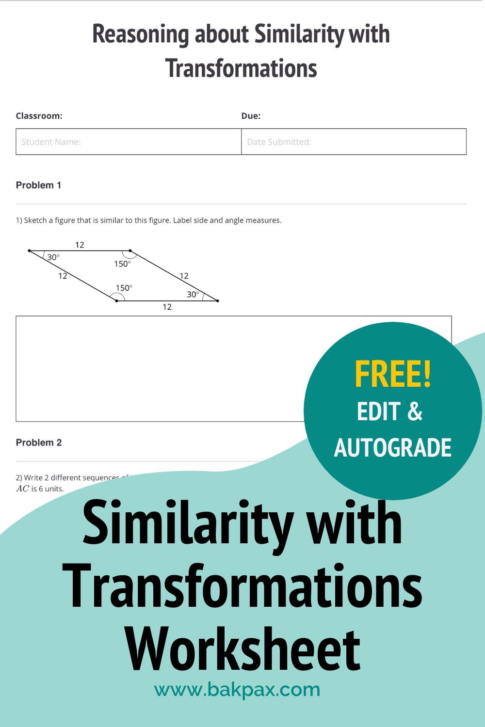 47+ Sequence of transformations worksheet Ideas In This Year