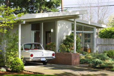 Mid Century Modern Homes Storrs Designed Home At 1516 N E 129th Place Is Listed For 199 000