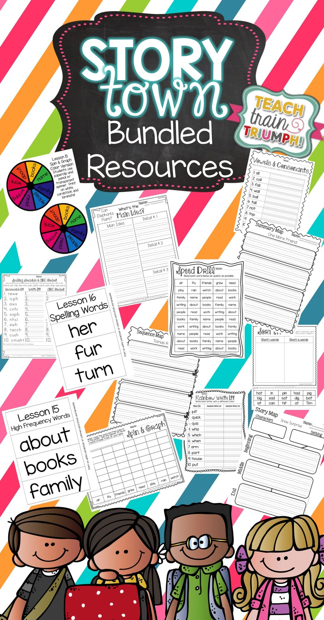 Story Town Grade 1 Resource Bundle With Images