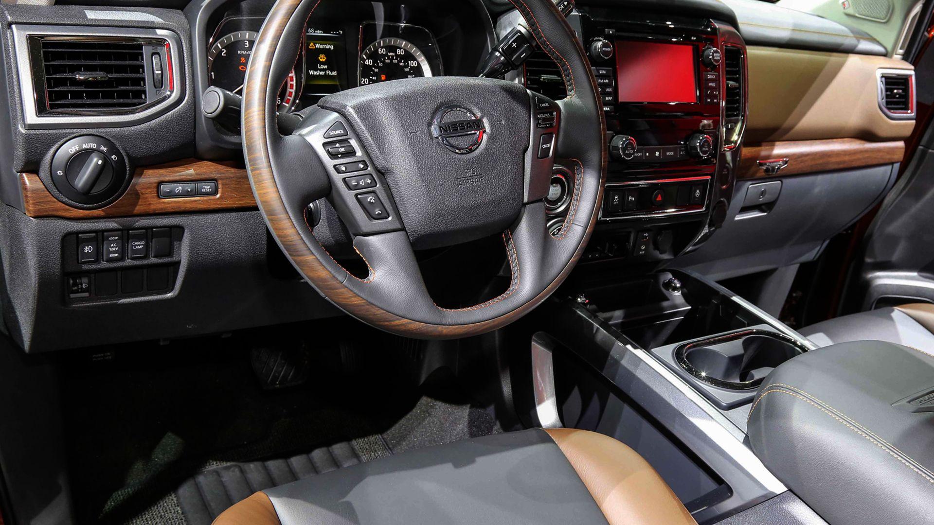 2019 Nissan Armada Interior Design