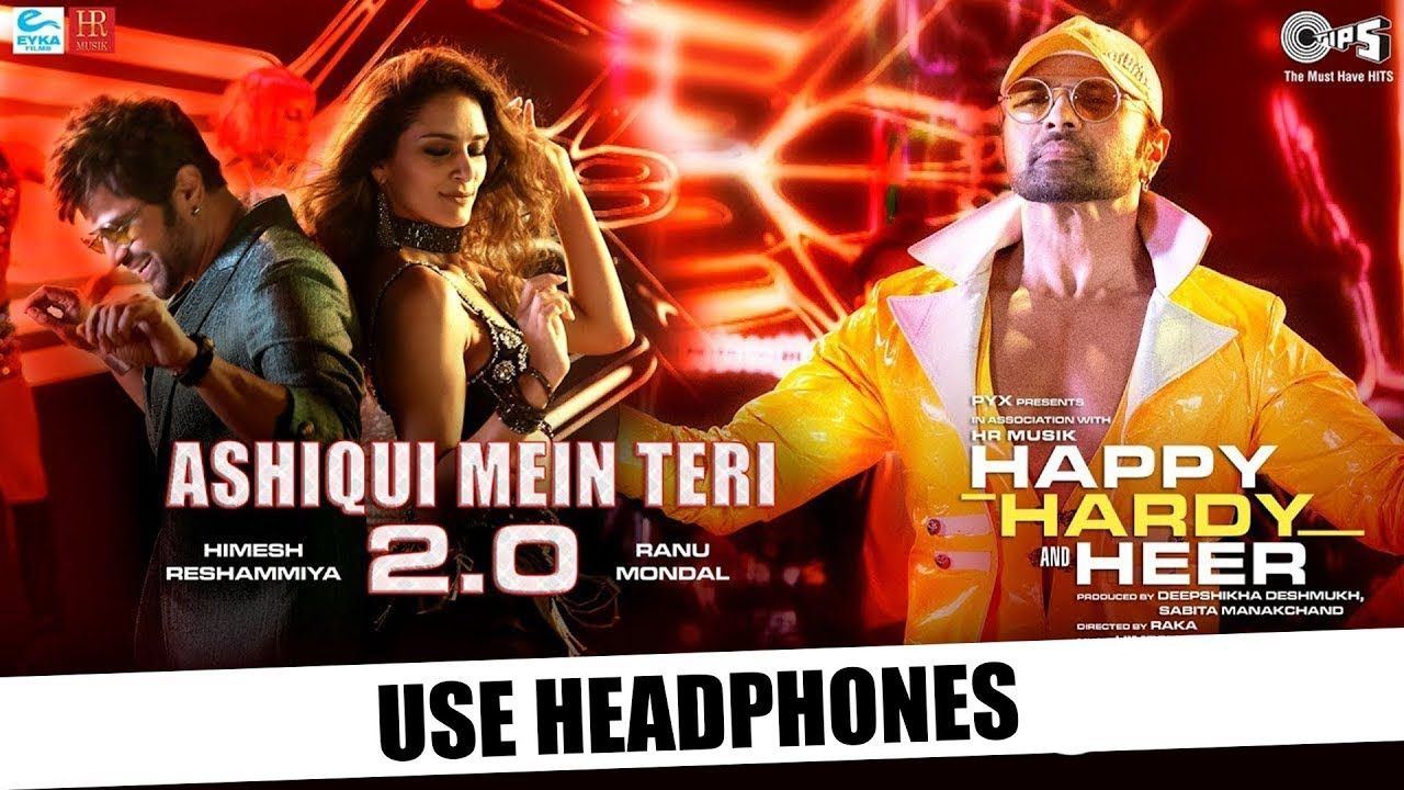 Ashiqui Mein Teri 2 0 8d Audio Himesh Reshammiya Ranu Mondal Songs Mp3 Song Trending Songs