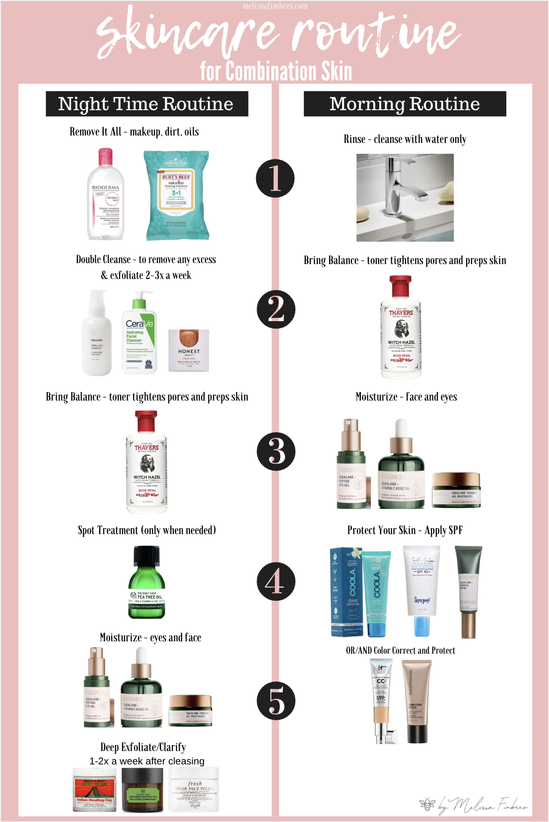 Skincare Routine For Combination Skin Face Skin Care Routine Oily Skin Care Routine Skincare For Combination Skin