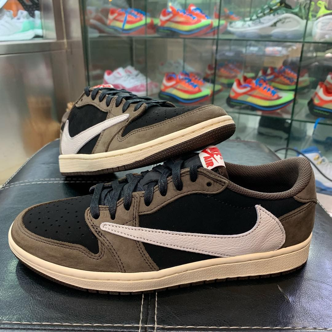 Travis Scott X Air Jordan 1 Low Detailed Preview Pictures With