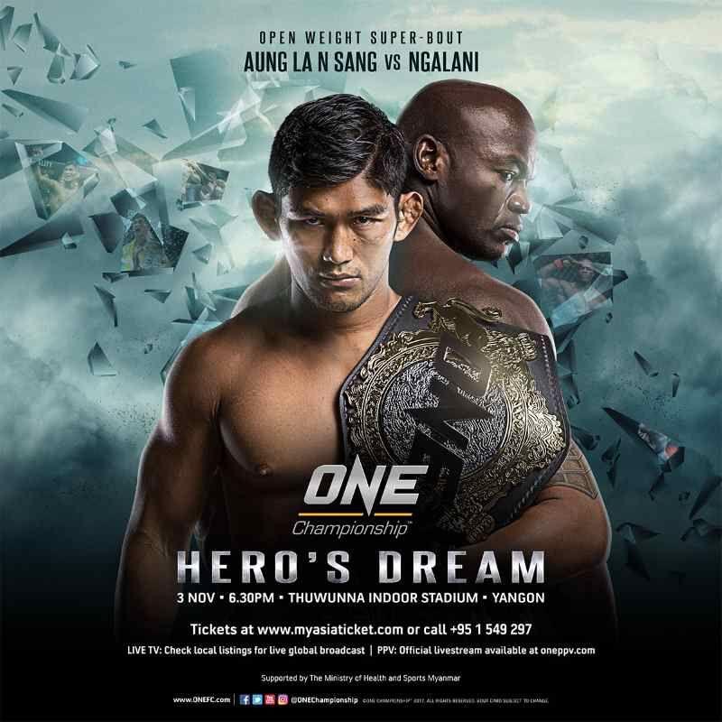 Pojedynek Dawida Z Goliatem Na One Championship Aung La Nsang Vs
