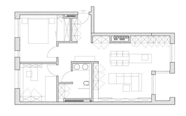 Minimalist Floor Plans incredible smart design apartment floor plan minimalist apartment