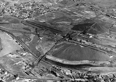 Marvine Colliery Coal Aerial Scranton Lackawanna PA Photo | eBay