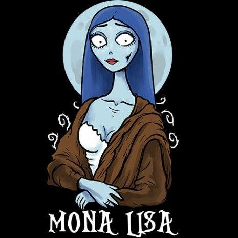 Tim Burton's Mona Lisa Hoodie