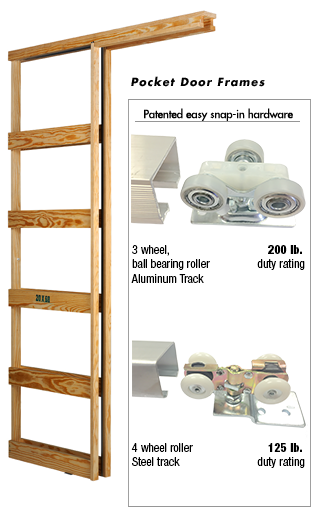 Marwin Company   Pocket Door Frames   Pocket/Bypass/Sliding Doors in ...