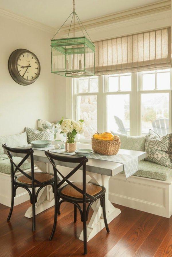 Fantastisch Weiße Holzbank Im Esszimmer Praktische Ideen Esszimmer Einrichten Eckbank |  Kitchen | Pinterest