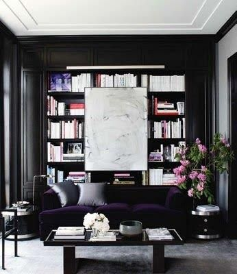Design Details: Black Walls