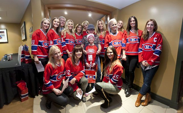 Wives And Girlfriends Of Nhl Players Julie Eller Marianne Larouche Angela Price Nhl Players Wife And Girlfriend Hockey Wife