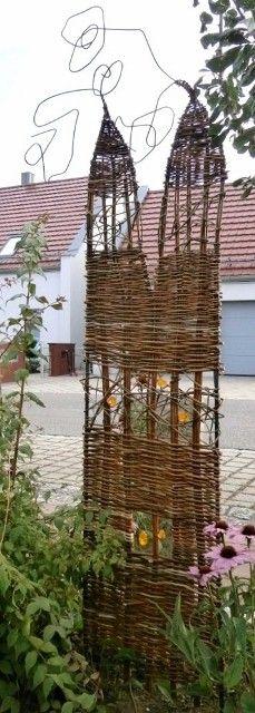 Weidenflecht Kurs Und Glas Weidengeflecht Seminare Flechtkurse Und  Gartengestaltung Im Glas Stadl Atelier   Fusing