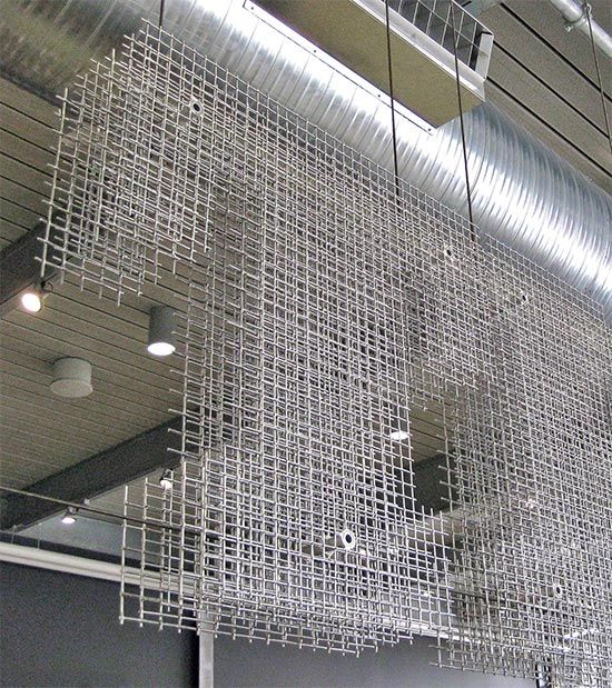How To Use Wire Mesh As An Interior Design Material