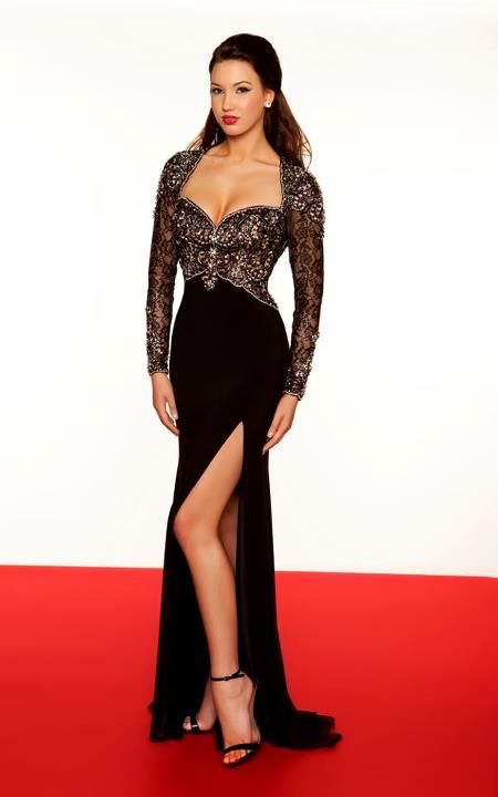 Style: #78702R BLACK-NUDE (Front)