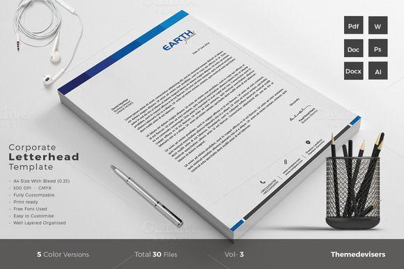Letterhead Letterhead template and Template - letterhead example