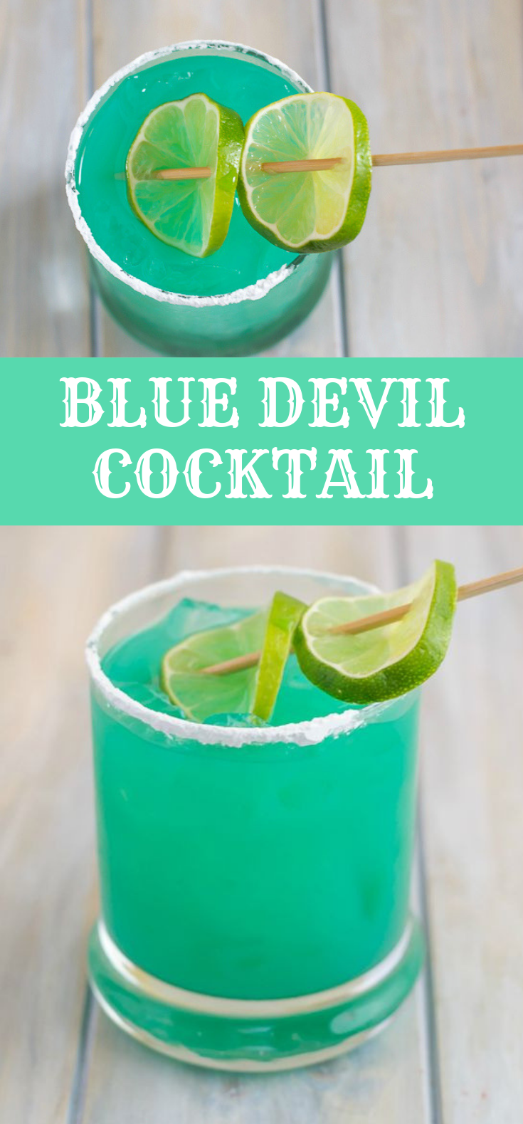 BLUE DEVIL COCKTAIL RECIPE #Cocktail #Drinks #cocktaildrinks