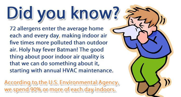Call Fresh Heating And Air Today 530 675 4822 We Want Your Indoor
