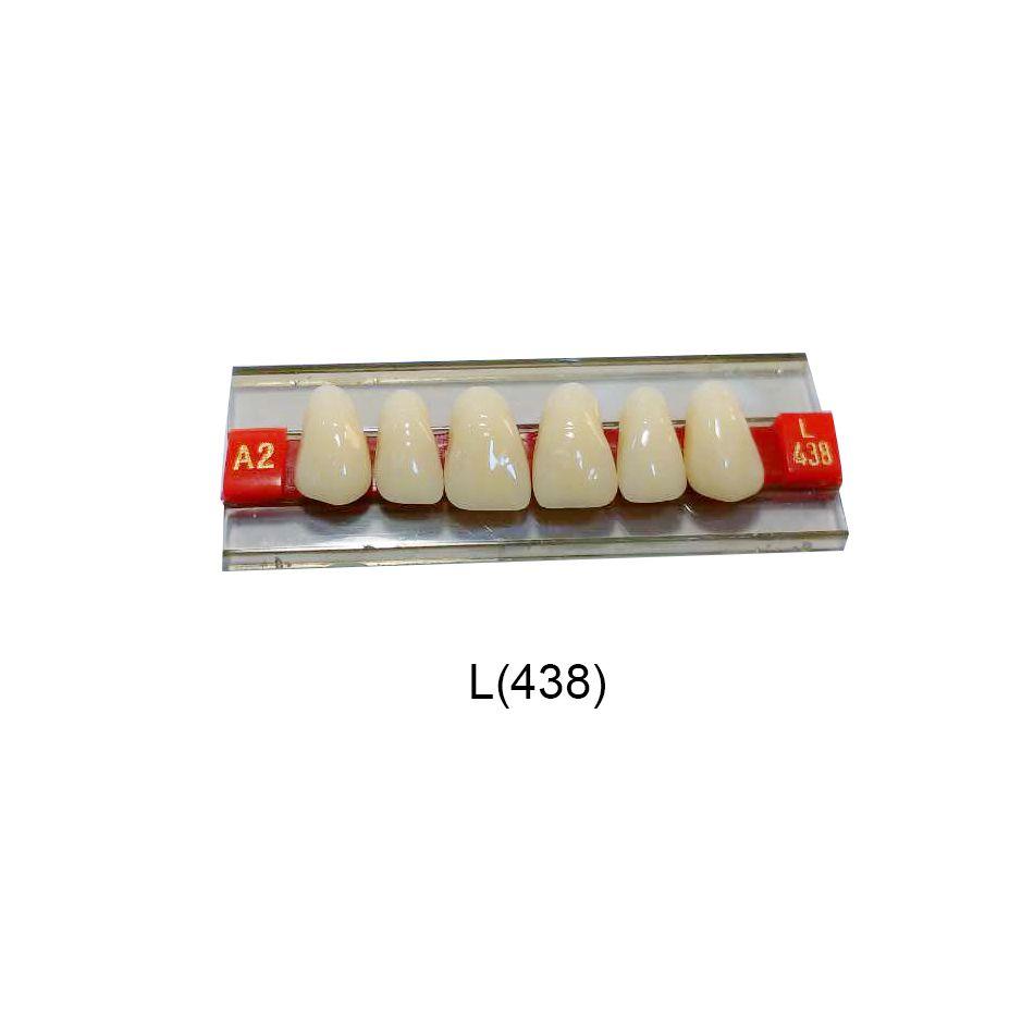 Acrylic Resin Denture Dental Teeth Shade G438 A2 A3   Oral