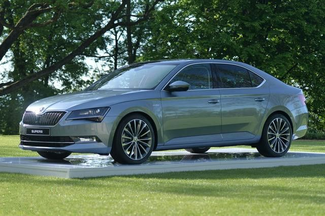Next Generation Skoda Superb Seems To Launch In 2016 In India