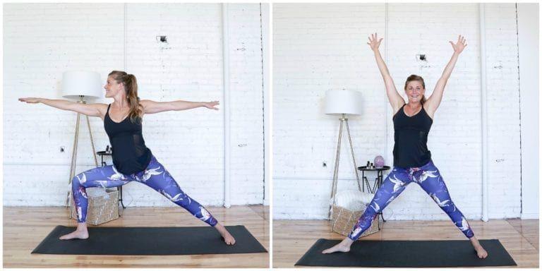 Beginner HIIT Cardio Yoga Workout   Nourish Move Love #cardioyoga