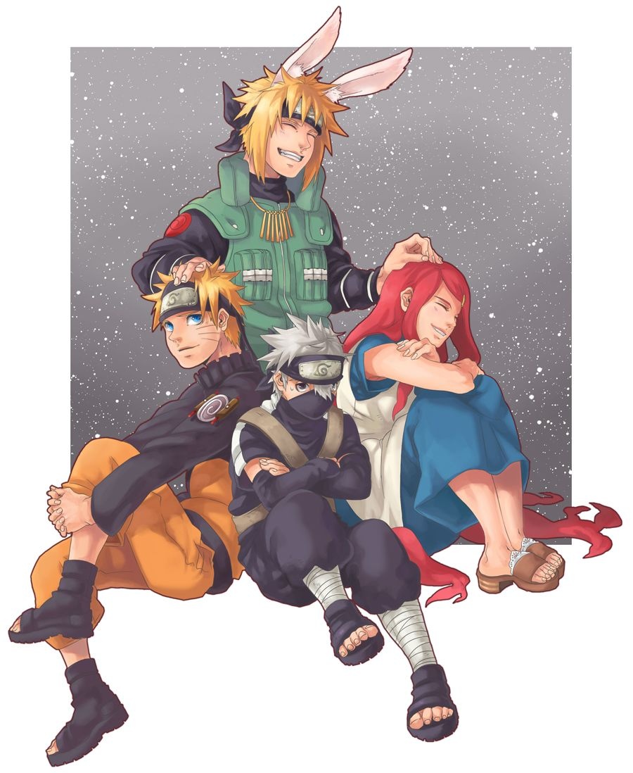 Minato 39 s family naruto young kakashi kushina naruto - Naruto boards ...