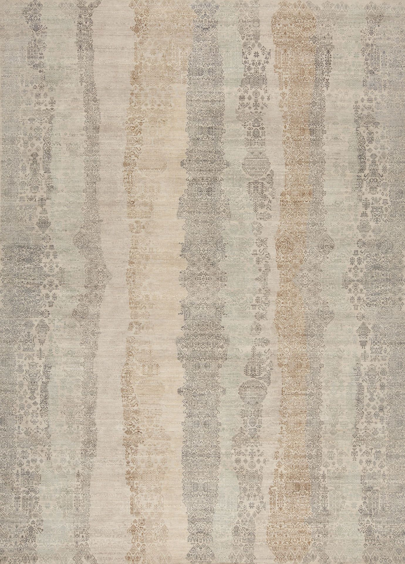 Buy Fulton, Ivory By Samad  Quick Ship Designer Rugs