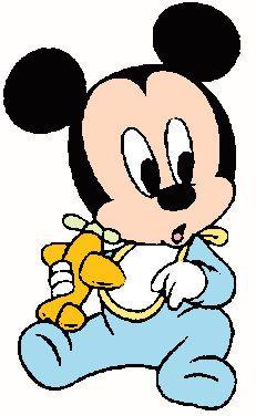 Desenhos Imprimir Turma Mickey Baby Disney 5 Personagens Da