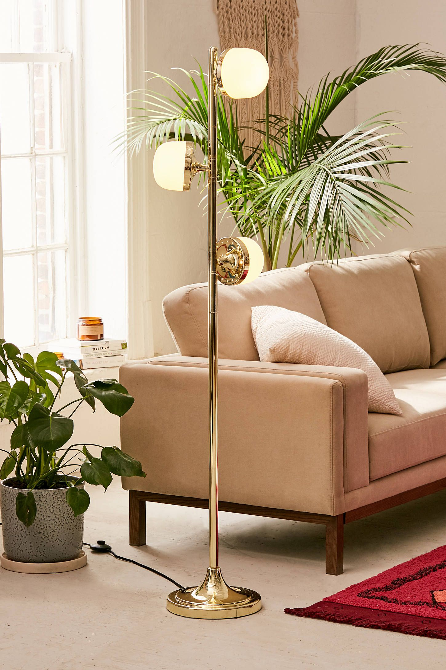 Urban Outfitters Emery Floor Lamp Cool floor lamps
