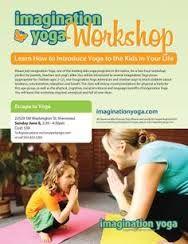Kid Yoga Flyer Google 搜尋 Yoga For Kids Parenting Workshop Teach Kids Kindness